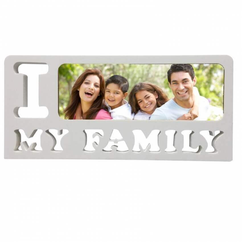 מסגרת I LOVE MY FAMILY